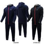 あすつく アンダーアーマー UA ウェア ヒートギア UA BB Knit ジャケット パンツ 上下セット 1313283-1313282