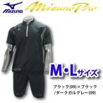 ミズノ ミズノプロ S-LINE ハーフZIPジャケット 半袖 ハーフパンツ 12JE7J81-12JF7J81 上-下 ■mtw Mizuno 野球用品 スワロースポーツ