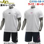 あすつく ハタケヤマ ウェア 上下 上下セット スワロー 限定 オーダー 半袖 ドライ Tシャツ ハーフパンツ HF-SDT21S HATAKEYAMA ウエア メンズ 野球用品スワ