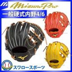 あすつく ミズノ MIZUNO ミズノプロ 硬式 グラブ スピードドライブテクノロジー 内野手用4/6 1AJGH14203 グローブ 硬式 内野手用 Mizuno 野球用品 スワロースポ