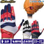 ミズノ ミズノプロ 守備用手袋 (捕手用) 左手用 1EJED160 Mizuno 野球用品 スワロースポーツ