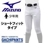 ミズノ ユニホーム ウェア 少年 ジュニア 野球 ユニフォームパンツ ズボン GACHI ショートフィットタイプ ガチパンツ 12JD9F8401 ユニホーム ウェア ウエア 少年