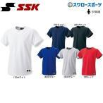 ショッピングSSK SSK エスエスケイ Tシャツ 半袖 メンズ ジュニア 少年 2ボタン プレゲームシャツ (無地) BW1460J ウエア ウェア ssk ファッション スポカジ 夏 練習着 運動 トレ