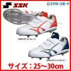 ショッピングSSK SSK エスエスケイ 樹脂底 埋込金具 スパイク マジックテープ ベルクロ 3本ベルト式 マジックベルト Maxi Light YマキシライトY-NEO-VC SSF3004 靴 シューズ 野球