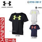 Yahoo!野球用品専門店スワロースポーツアンダーアーマー UA ウェア Tシャツ UA テック ユース ビッグ ロゴ ショート スリーブ シャツ 少年用 1354428 ウェア ウエア 春夏 トレーニング 新商品 少年野