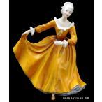 送料無料  ロイヤルドルトン Royal Doulton フィギュリン 1970年  Kirsty クリスティー  陶磁器人形