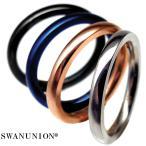 ペアリング シンプル 極細 刻印 高級 ステンレス製 指輪 人気 ペア プレゼント カップル シルバー ブルー ピンキーリング chsr34-37 おしゃれ