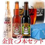 ビール 地ビール 飲み比べ 金賞3本セット ご贈答用 包装熨斗 craft beer