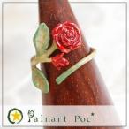 パルナートポック リング 巻きバラ メール便送料無料 Palnart Poc/パルナートポック Brough Superior/ブラフシューペリア アクセサリー 薔薇 指輪 花 フラワー