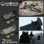 ACE1ARMS(エースワンアームズ) Defense Style Red Dot Back Up Sight Base デフェンス スタイル レッドドット バックアップ サイト ベース レプリカ g-rds-gls