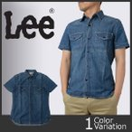 Lee(リー) デニム ワークシャツ(半袖) LT0503-146