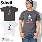 SCHOTT(ショット) Schott×DISNEY T-SHIRT BROOKLYN