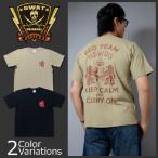 SWAT ORIGINAL(スワットオリジナル) ミリタリー メンズ半袖 Tシャツ デブグル レッドチーム KEEP CALM