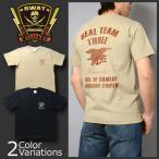 """SWAT ORIGINAL(スワットオリジナル) """"SEAL TEAM THREE CHARLIE"""" シール チーム3 チャーリー アメリカンスナイパー ミリタリー メンズ半袖 Tシャツ"""