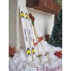 ミニチュア スキーセット NY61011 ドールハウス用