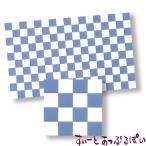 ミニチュア 【スペイン製】 ドールハウス用タイルシート ブルーグレイxホワイト 275x163 mm WM34362 ドールハウス用