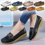 ショッピングドライビングシューズ モカシン レディース 革靴 スリッポン デッキシューズ ドライビングシューズ レザー 靴 歩きやすい 痛くない 婦人靴 母の日