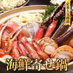 海鮮寄せ鍋セット「N-02」生たらばがに、生ずわいがに、甘えび、鮭、たら、ほたて、かに団子、うどん 海鮮鍋しゃぶしゃぶ 北海道お土産