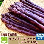 蘆筍 - 北海道富良野産ラベンダーアスパラ(紫アスパラ)【お試し100g(Lサイズ)】