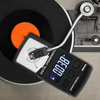 針圧計 レコードプレーヤー用 デジタル ビニール プレーヤー用 バックライト 自動低圧アラーム 自動電源オフ