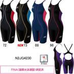 ミズノ(MIZUNO) 女性用 競泳水着 マイティソニックR ウイメンズハーフスーツ N2JG4230