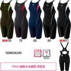 ミズノ(MIZUNO) 女性用 競泳水着 ストリームアクティバ ウイメンズハーフスーツ(オープン) N2MG6240