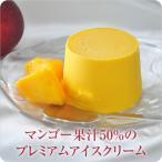 マンゴー果汁50% マンゴーアイス アイスクリーム  マンゴー  フルーツ (プレミアムアイスクリーム)