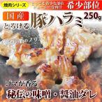 国産 ハラミ 豚 はらみ ホルモン 250g 焼肉用 焼肉 BBQ BBQ バーベキュー 秘伝 タレ漬け 焼くだけ