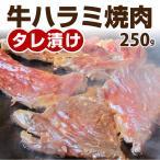 焼肉 牛肉 肉 牛ハラミ タレ漬け 250g 赤身 バーベキュー BBQ 美味しい 焼くだけ 丼 にも 冷凍食品 お取り寄せ *当日発送対象