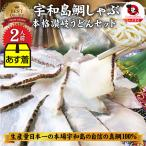 魚 鯛 しゃぶしゃぶセット 2人前 鯛しゃぶ たい 宇和島 愛媛 宇和海 讃岐うどん 鍋 母の日 ギフト 2021  送料無料