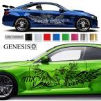 女神カーステッカー159■バイナルグラフィック車ワイスピ系カスタム限定 かっこいいデカール 14色から選べる