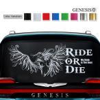 女神リアカーステッカー26/車用バイナルグラフィックかっこいいワイルドスピード系デカール/14色から選べる