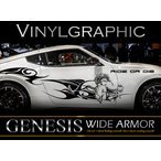 女神カーステッカーwa53■バイナルグラフィック車ワイルドスピード系デカール限定 かっこいい 14色から選べる