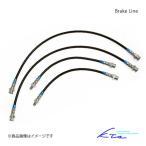 KTS ブレーキライン カローラレビン/スプリンタートレノ AE86 ブレーキホース