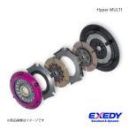 ショッピングmm EXEDY エクセディ クラッチ Hyper Series Hyper MULTI ツイン ランサーEvo.4〜9
