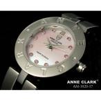 ANNE CLARK(アン・クラーク)レディース腕時計 AM1020-17(文字盤ピンク) 〔愛らしいスイング・チャームがキラリ 〕