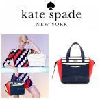 ケイト スペード ニューヨーク kate spade new york リボン トート バッグ BEAU ネイビー レッド ボーダー