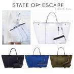 ステイトオブエスケープ State of Escape ESCAPE TOTE ロンハーマン トートバッグ メッシュ  オーストラリア ホワイト ブルー イエロー