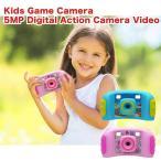 キッズ デジタルカメラ 500万画素写真撮影 ビデオ撮影 1.8インチ液晶画面 ゲーム内蔵