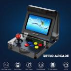 レトロ ゲームコンソール エミュレーター 3000ゲーム内蔵 MP3プレーヤー