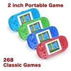 268種類 2インチスクリーン ポータブル クラシックゲーム