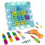おもちゃ 子供用 電動ドリル ネジ 積み木 ツールボックス カラフル 組み立て セット 知育玩具 誕生日 プレゼント 200ピース 送料無料