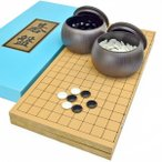 囲碁セット 新桂6号折碁盤セット(プラ碁石梅・ブロー碁笥)