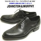 ジョンストン&マーフィー メンズ ビジネスシューズ ウィングチップ JM1002