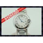 ショッピングカルティエ カルティエ(CARTIER)/腕時計/レディース/バロンブルーSM/クォーツ/ステンレススチール/W69010Z4/中古美品