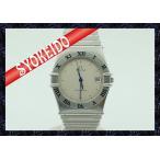 ショッピングオメガ オメガ(ΩOMEGA)/腕時計/メンズ/コンステレーション/constellation/ツヤ消しベゼル×SS/クォーツ/新古品