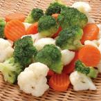 冷凍食品 業務用 洋風野菜ミックス 500g 108203 ミックス野菜 パーティ食材 ブロッコリー カリフラワー 人参 冷凍野菜