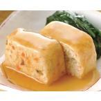 冷凍食品 業務用 加賀伝統野菜の豆腐ローフ和風あんかけ 85 g(1 個入) あんかけ 和惣菜 とうふ 施設向け食材:やわらか調理食材