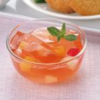 冷凍食品 業務用 あわせるゼリー (とちおとめ苺果汁入り) 500g (約36〜44個入) 18798 カット済 デザート 鉄分入 食物繊維入 洋菓子 フルーツ いちご