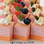冷凍食品 業務用 ミニカットケーキミルクレープ いちご 490g 48個入 18890 販売期間 2月-4月 ケーキ 洋菓子 デザート フルーツ